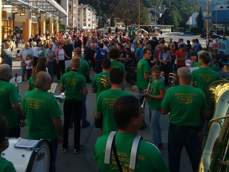 Rudarska godba Hrastnik igra na 5. festivalu Funšterc
